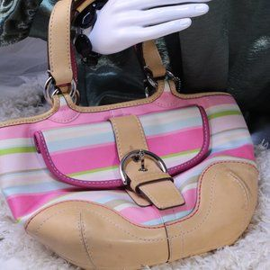 Coach Soho Multi Color Small Hobo Bag